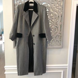 Vintage, Christian Dior, Luxury Dress Trench Coat